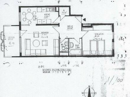 Tamm - 2,5-Zimmer-Wohnung mit Balkon in Tamm Verleihen Sie dieser Wohnung neuen Glanz