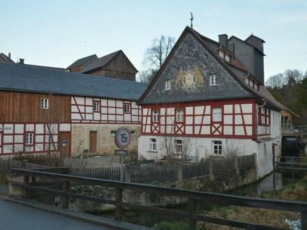 Wonsees - Denkmalgerecht saniertes Mühlenanwesen in Fränkischen Schweiz