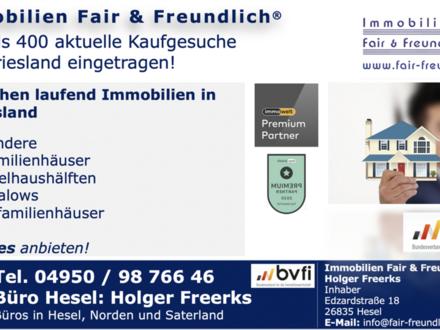 Leer (Ostfriesland) - *** Urlaubszeit! Die Immobilien-Saison beginnt !!! ***