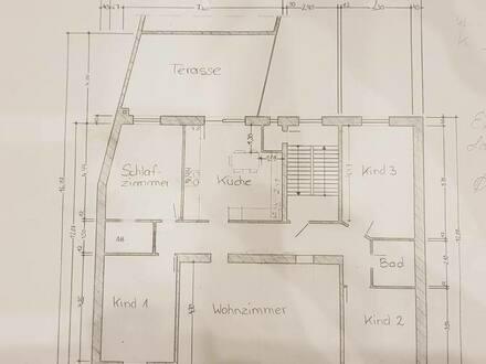 Bochum - Traum Altbauwohnung Terrasse