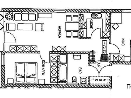 Kr. Altötting - Burgkirchen - 3-Zimmer 74qm Wohnung mit Garten für Kapitalanleger