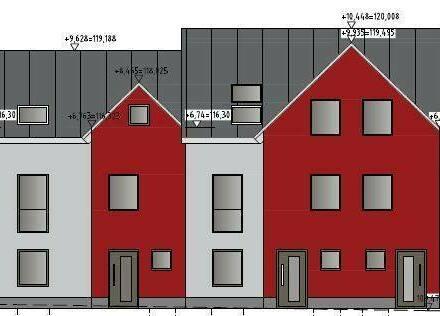 Weiterstadt - Neubau von 3 modernen Reihenhäusern mit sechs Zimmern in Gräfenhausen