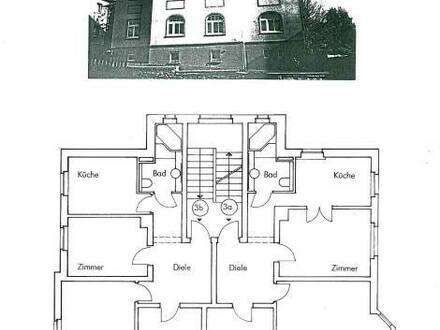 Schneeberg - 3-Zimmerwohnung mit Holzboden + liebevoll angelegtem Garten