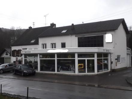 Eppelborn - Wohn-Geschäftshaus+KFZ Werkstatthalle und Lagerräume Gute Lage!!!