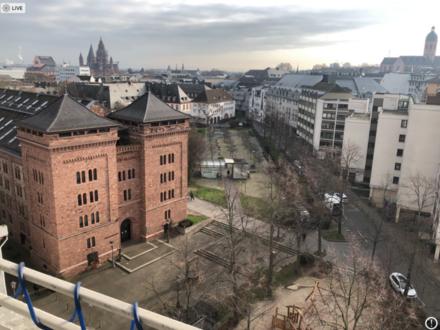 Mainz - 1 Zi-Appartment, MZ-CIty, Balkon, TG-Stellplatz, vermietet