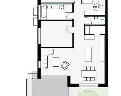Metzingen - Bestwohnlage: Moderne 3,5-Zimmer-Wohnung am Weinberg (Emil-Mörsch-Weg)