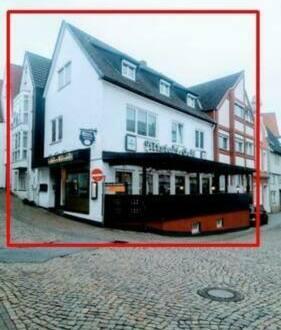 Bad Salzuflen - Wohn-und Geschäftshaus | Restaurant + Praxis + 4 Wohnungen in Bad