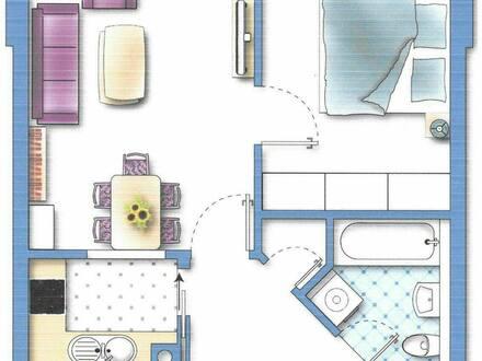 Buchloe - Provisionsfreie ETW in zentraler, ruhiger Wohnanlage in Buchloe
