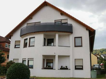 Miltenberg (Kreis) - Sanierte 2,5-Raum-Dachgeschosswohnung mit Balkon in Miltenberg (Kreis)