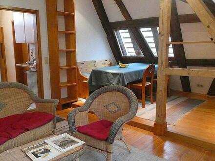 Karlsruhe - Außergewöhnliche 2-Zimmer-Dachgeschoßwohnung in Durlach
