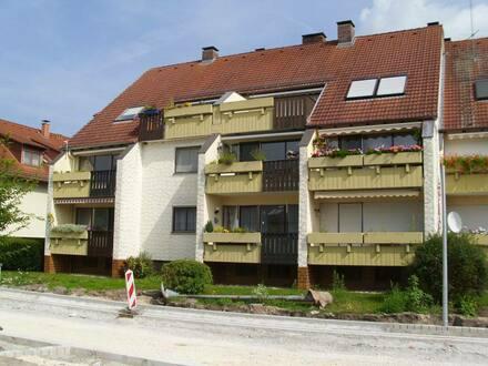 Muhr am See - Gepflegte 2-Raum-Terrassenwohnung mit Balkon und Einbauküche in Muhr am See