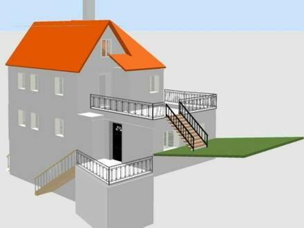 Sulzbach-Laufen - Reihenhaus 95m² mit großem Garten im Zentrum wird für Sie Saniert
