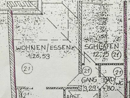 Spiegelau - Raffinierte 2-Zimmer-DG-Wohnung 58qm