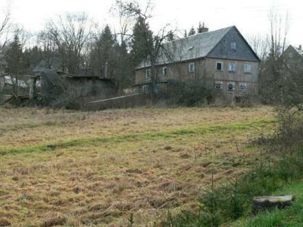 Schöneck - Bauernhaus ca. 1830, abbruchreif, auf großem Grundstück