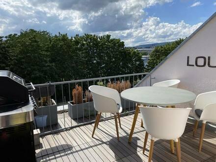 Wiesbaden - +++von PRIVAT+++ 4 Zimmer Maisonette Wohnung mit traumhaftem Blick in ruhiger Stadtlage