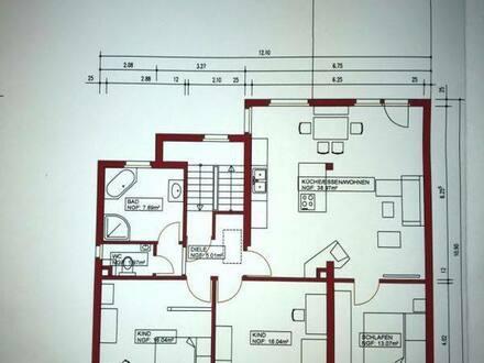 Mühlheim am Main - Gepflegte und Stilvolle 4-Zimmer-Wohnung mit Einbauküche in Mühlheim am Main