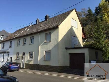 Herrstein - Herrstein Zentrum. Wohnen und arbeiten, wo andere Urlaub machen. 1-2 FH mit Garage, Hof und Garten zum kleinen…