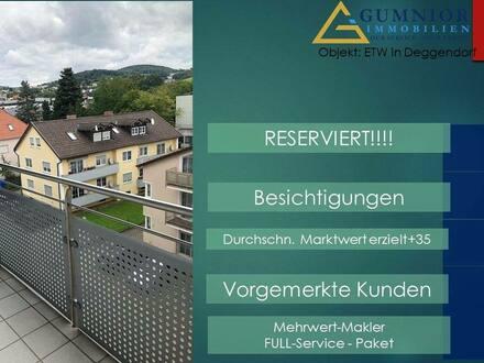 Deggendorf - Reserviert!! Top Lage ** 2 Zimmer Wohnung in zentraler Lage ** Nur wenige Minuten zum Rathaus* Lift*Winter…
