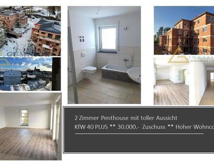 Kemnath - Großzügiges 2 Zimmer Penthouse ** Terrasse** Kfw 40 PLUS ++ EUR 30.000. Zuschuss