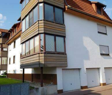 Bad Sooden-Allendorf - Ruhige und doch zentral gelegene, helle top gepflegte 3ZKBB mit ausgebautem Balkon (12,12 qm) am Wal