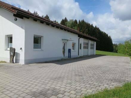 Rimbach - Neuw. Wohnhaus mit Halle und zzgl. 1.100 m² Baugrundstück in RimbachThenried