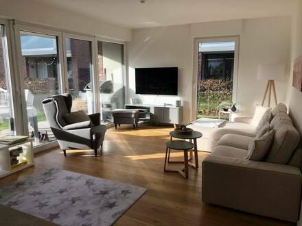 Frechen-Königsdorf - Exklusive, neuwertige 4-Zimmer-Erdgeschosswohnung mit Garten und EBK in Frechen-Königsdorf