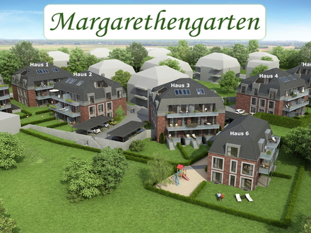 Neubau-Erstbezug! Gut geschnittene Zwei-Zimmer-Wohnung mit tollem Süd-West-Balkon in zentraler Lage