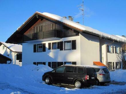 Vermiete. schöne 2-Zi Wohnung Ferienwohnung in Nesselwang/Allgäu - im Winter nur 60 EUR/Tag