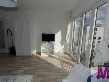 Möblierte 1 Zimmer Wohnung im Zentrum von Nürnberg