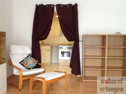 Schöne 2 Zimmer-Wohnung im Zentrum von Erlangen