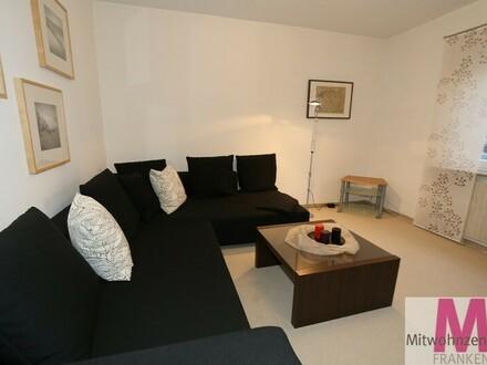 Modern möblierte Wohnung in ruhiger Lage