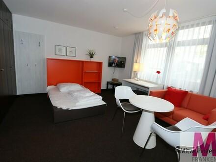 Apartment mit gehobener Komplettausstattung am Nürnberger Hafen