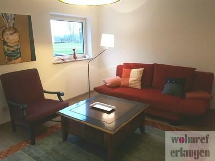Traumhafte 2 Zimmer Wohnung mit Blick ins Grüne in Erlangen