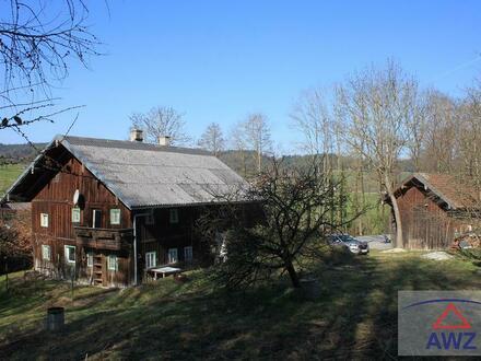 Sacherl-Holzhaus-Natur im Kobernaußerwald