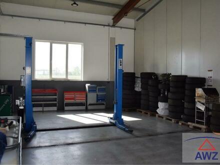 Verkaufe größeren AUTO-VERKAUFSPLATZ mit Halle in guter Lage.