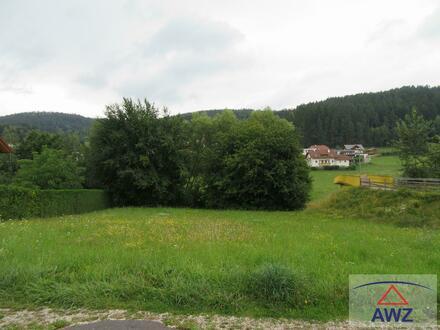 Schönes Grundstück im Zentrum von Lasberg zum GÜNSTIGEN PREIS!