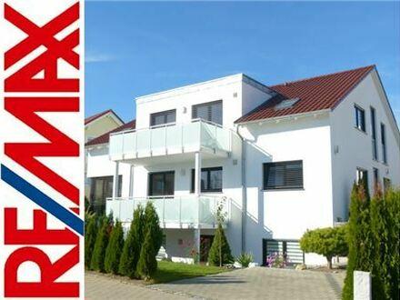 RE/MAX - Ulm-Lindenhöhe Passivhaus in ruhiger, gefragter Wohnlage am Südhang