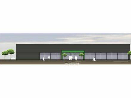 REMAX - Neubau - Erstbezug - Beste Lage! Projektierte Gewerbehalle in Illertissen zu vermieten