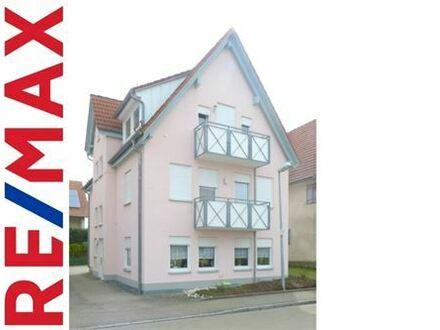 REMAX - 2-Zimmer-Wohnung mit Gartenanteil in Tomerdingen