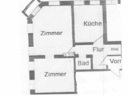 2-Zimmer-Wohnung mit kleinem Balkon und EBK in Erlangen Zentrum