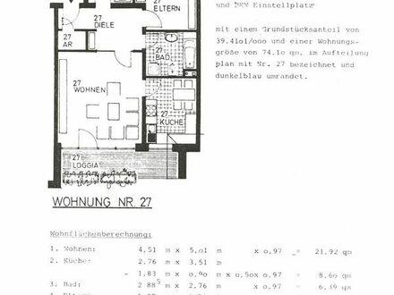 Helle und freundliche 3 ZKBB Wohnung in Warendorf.