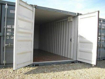 Lager-Garage-Container - verschiedene Größen mit Licht und Strom