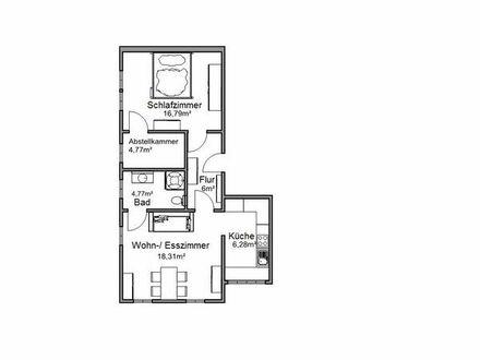 Wunderschöne möblierte 2,5 Zimmer Wohnung auf Zeit