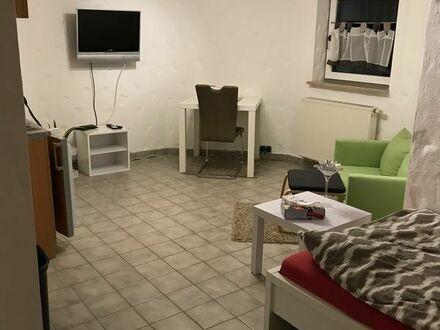1,5 Zimmer Wohnung, möbliert, für Wochenendeheimfahrer/Pendler