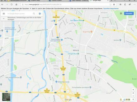 1-Zimmerwohnung mit Nebenzimmer in Erlangen-Bruck mit PKW-Stellplatz zu vermieten