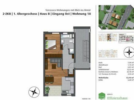 Vermietung 2. Zimmer- Neubauwohnung in Pfaffenhofen (Erstbezug)
