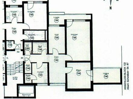 3-Zimmer-Wohnung - Heinrich-Wieland-Straße
