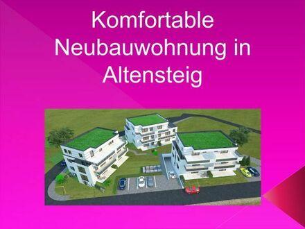 Komfortable 2-Zimmer Neubauwohnung (Penthouse) mit toller Aussicht