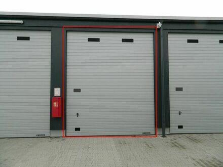 Neues ebenerdiges Lager / Garage, ca. 35 m2, mit Rolltor, 8 * 3,5 m