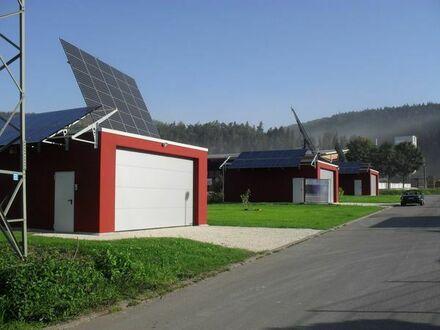 Großraumgaragen in Massivbauweise/Stellplätze für WOMO/Wohnwagen/Anhänger in Straßberg zu vermieten